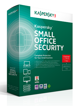 Kaspersky Small Office Security 5 for Desktops, Mobiles and File Servers, 1 year Base License