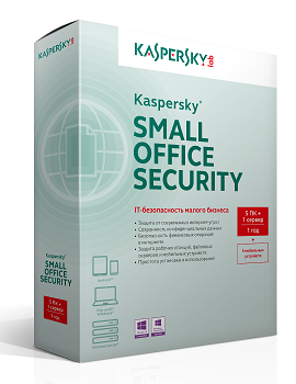 Kaspersky Small Office Security 5 for Desktops, Mobiles and File Servers (fixed-date) 5-9 Node 1 year Base License